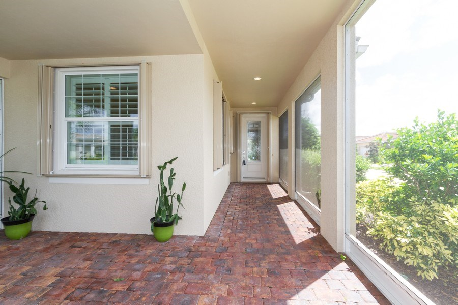Real Estate Photography - 8180 Chianti Lane, Naples, FL, 34114 - Patio