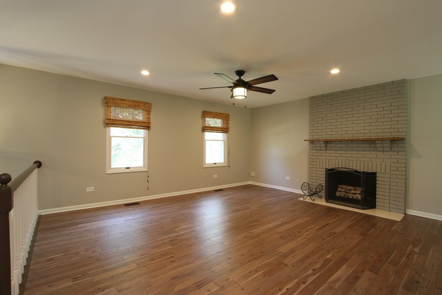 Real Estate Photography - 904 S Summit, Barrington, IL, 60010 - Living Room