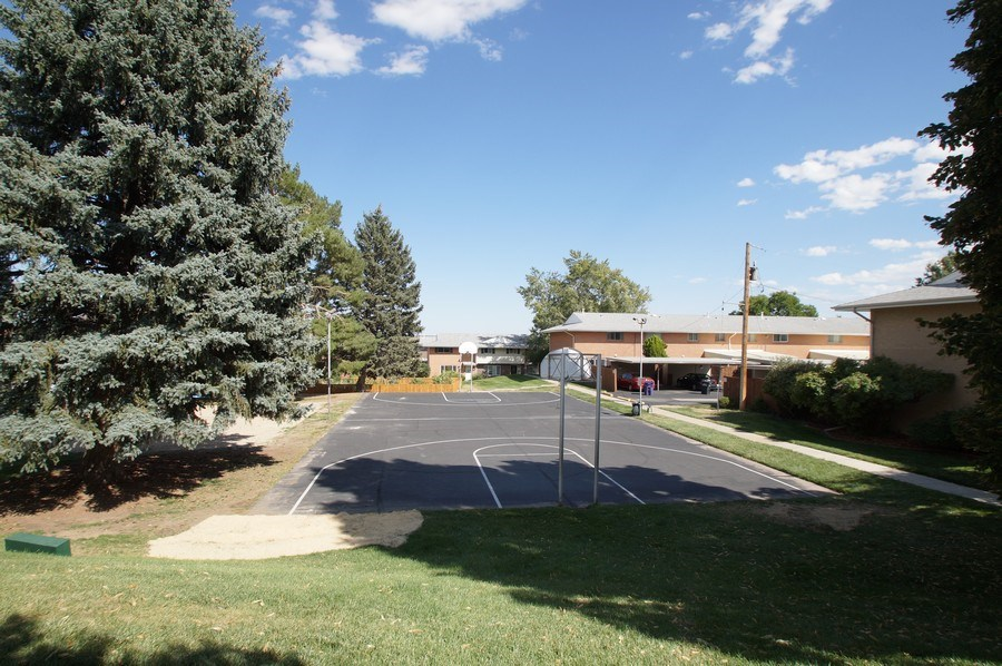 Real Estate Photography - 9085 E Nassau Ave, Denver, CO, 80237 - Basketball Court