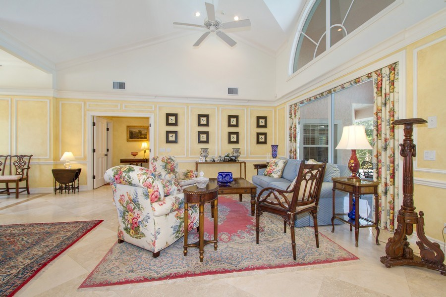 Real Estate Photography - 713 Pinecreek, Naples, FL, 34108 - Living Room