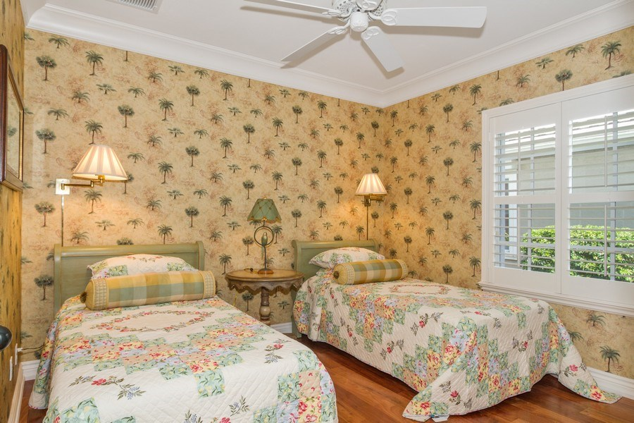Real Estate Photography - 713 Pinecreek, Naples, FL, 34108 - 2nd Bedroom