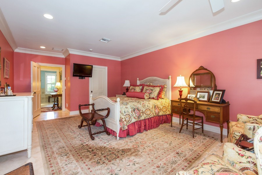Real Estate Photography - 713 Pinecreek, Naples, FL, 34108 - Master Bedroom