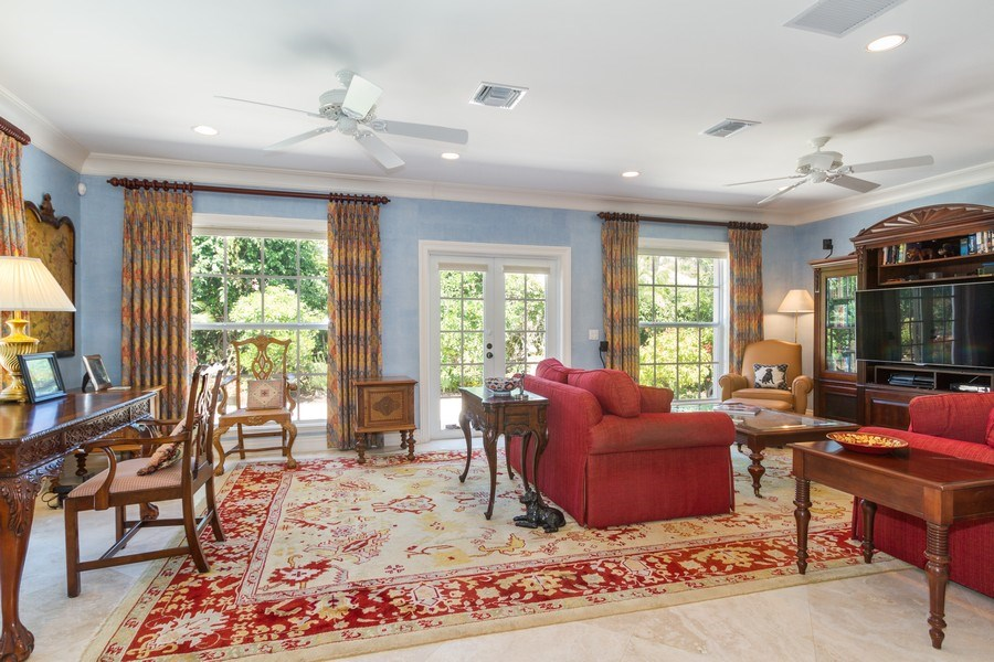 Real Estate Photography - 713 Pinecreek, Naples, FL, 34108 - Family Room