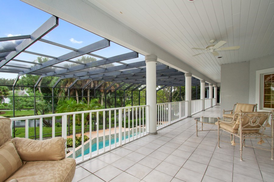 Real Estate Photography - 691 Annemore Ln, Naples, FL, 34108 - Terrace