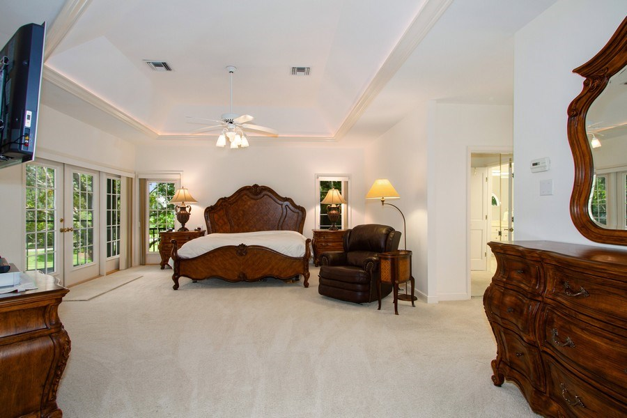 Real Estate Photography - 691 Annemore Ln, Naples, FL, 34108 - Master Bedroom