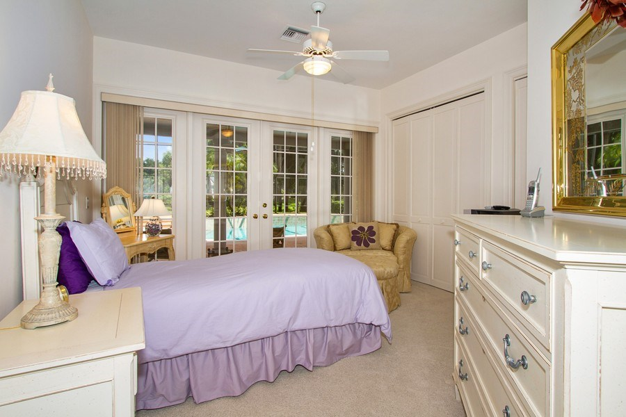 Real Estate Photography - 691 Annemore Ln, Naples, FL, 34108 - Bedroom