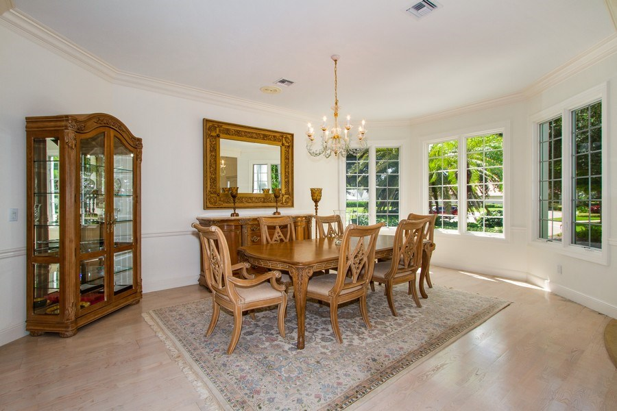 Real Estate Photography - 691 Annemore Ln, Naples, FL, 34108 - Dining Room