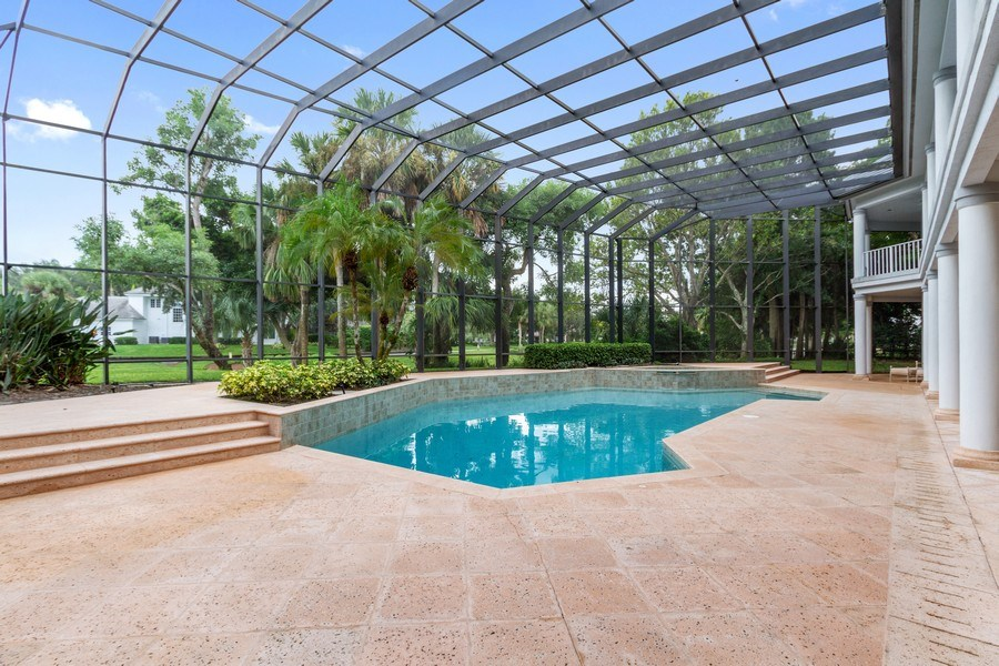 Real Estate Photography - 691 Annemore Ln, Naples, FL, 34108 - Pool