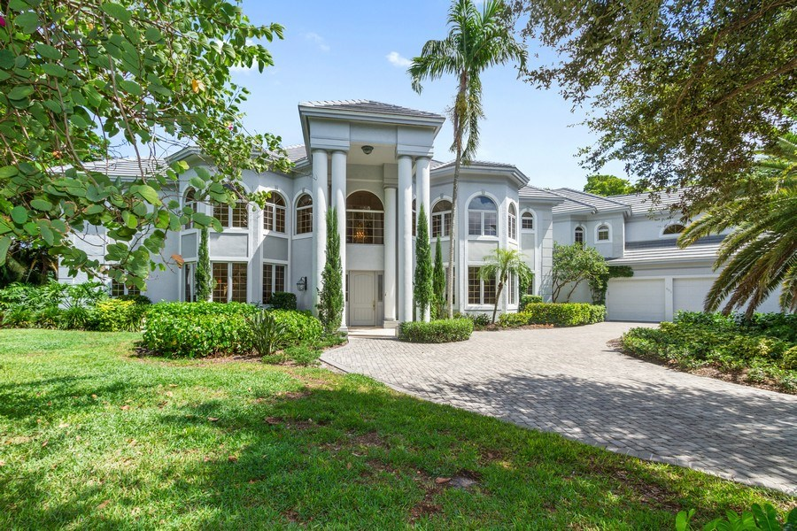 Real Estate Photography - 691 Annemore Ln, Naples, FL, 34108 - Front View