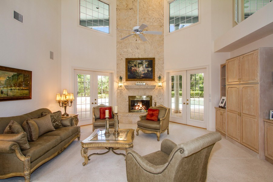 Real Estate Photography - 691 Annemore Ln, Naples, FL, 34108 - Family Room