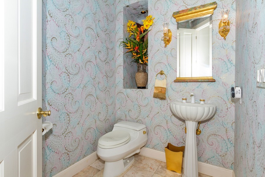 Real Estate Photography - 691 Annemore Ln, Naples, FL, 34108 - Half Bath