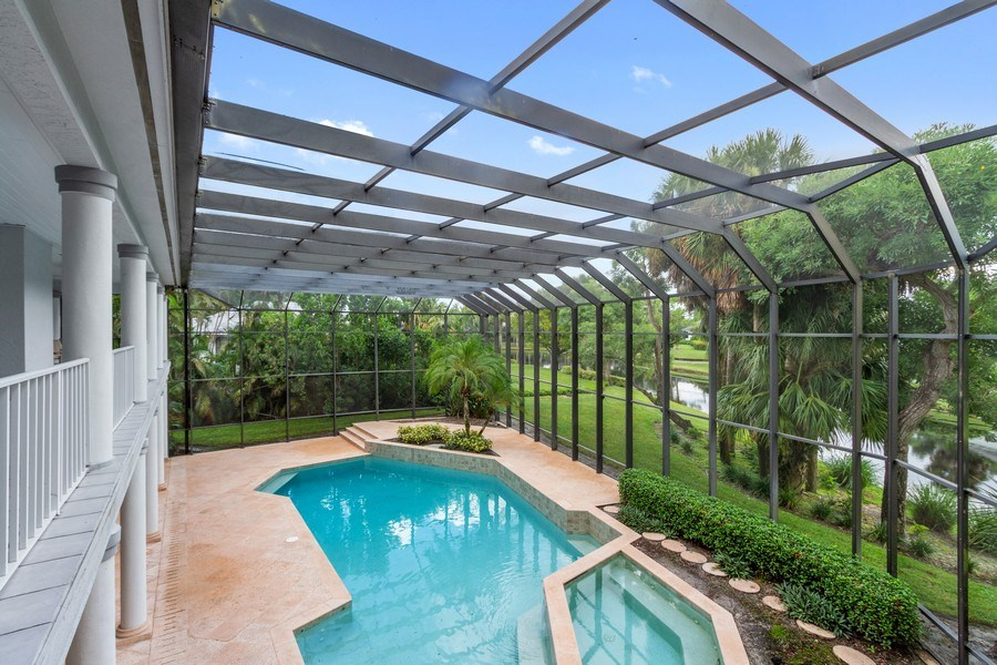 Real Estate Photography - 691 Annemore Ln, Naples, FL, 34108 - Lanai