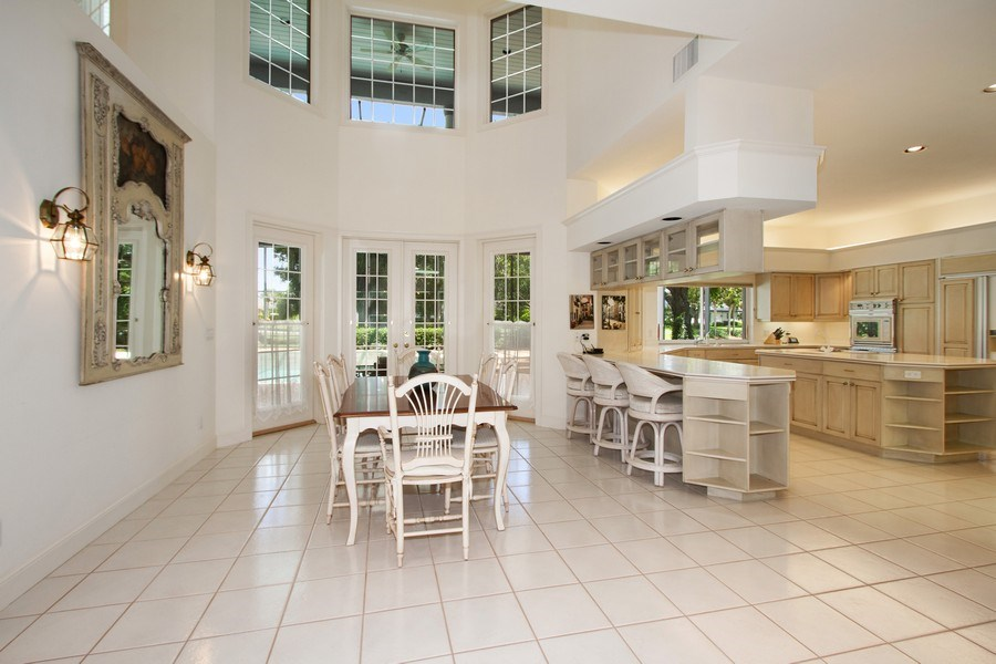 Real Estate Photography - 691 Annemore Ln, Naples, FL, 34108 - Breakfast Nook