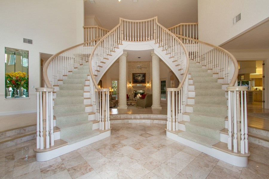 Real Estate Photography - 691 Annemore Ln, Naples, FL, 34108 - Entryway