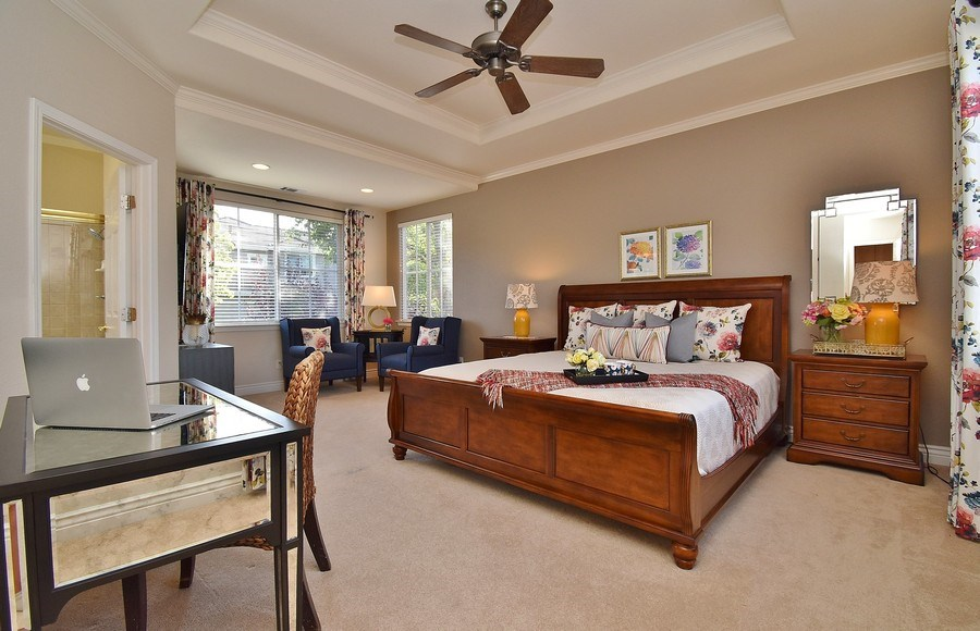 Real Estate Photography - 220 Abigail Cir, Danville, CA, 94506 - Master Bedroom