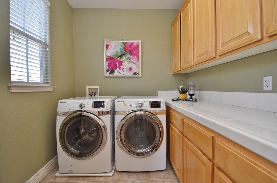 Real Estate Photography - 220 Abigail Cir, Danville, CA, 94506 - Laundry Room