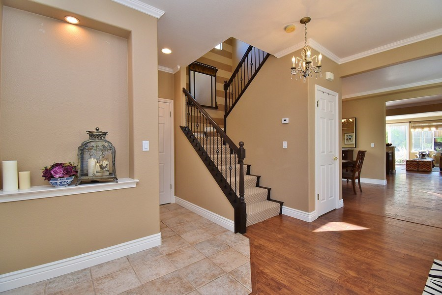 Real Estate Photography - 220 Abigail Cir, Danville, CA, 94506 - Staircase