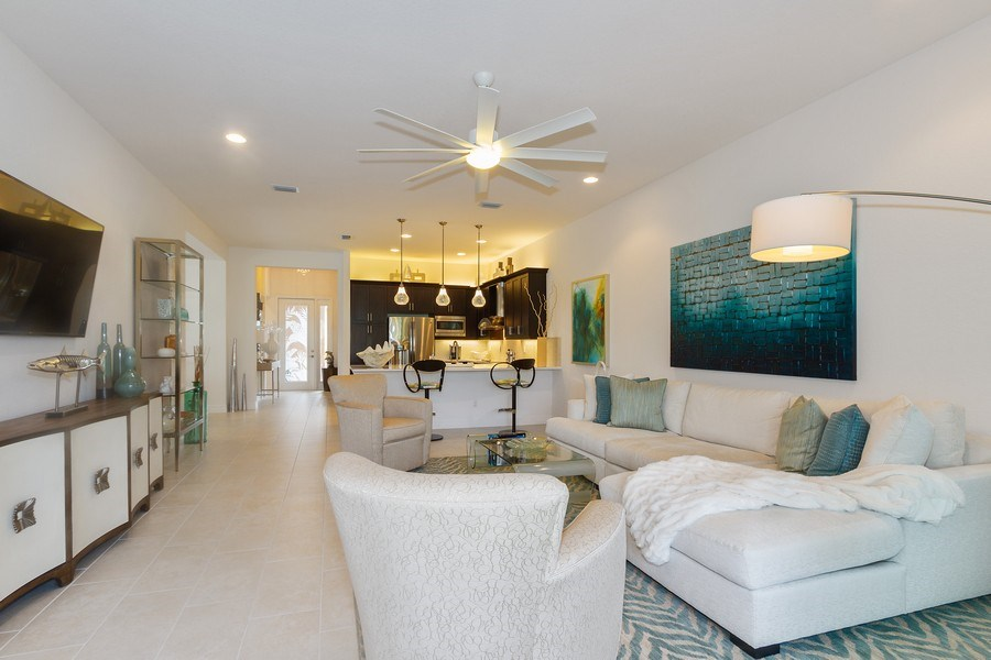 Real Estate Photography - 12008 Five Waters Cir, Fort Myers, FL, 33913 - Living Room