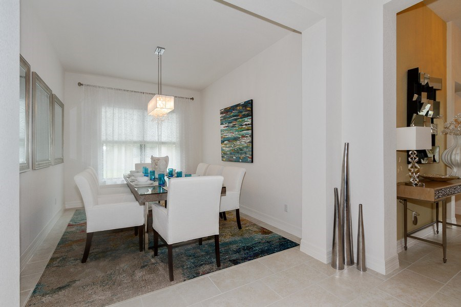 Real Estate Photography - 12008 Five Waters Cir, Fort Myers, FL, 33913 - Dining Room