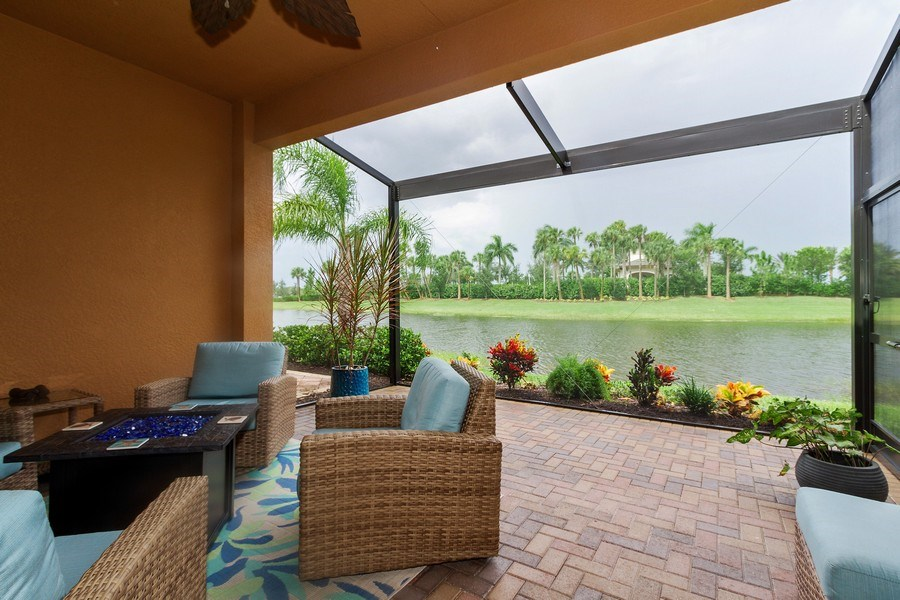 Real Estate Photography - 12008 Five Waters Cir, Fort Myers, FL, 33913 - Patio