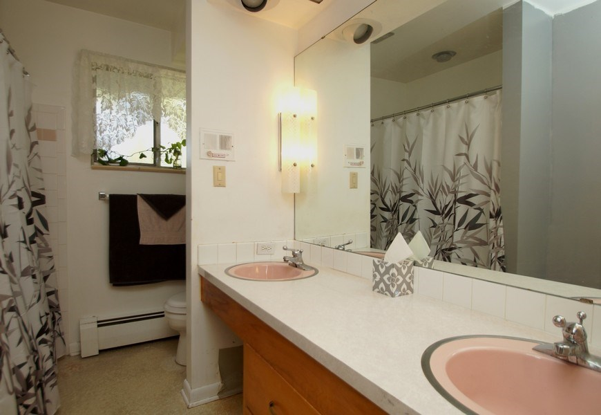 Real Estate Photography - 1920 S Niagara St, Denver, CO, 80224 - Bathroom