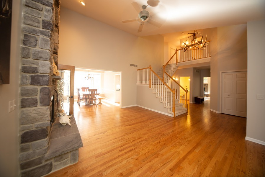 Real Estate Photography - 13631 Neal, Davisburg, MI, 48350 - Living Room