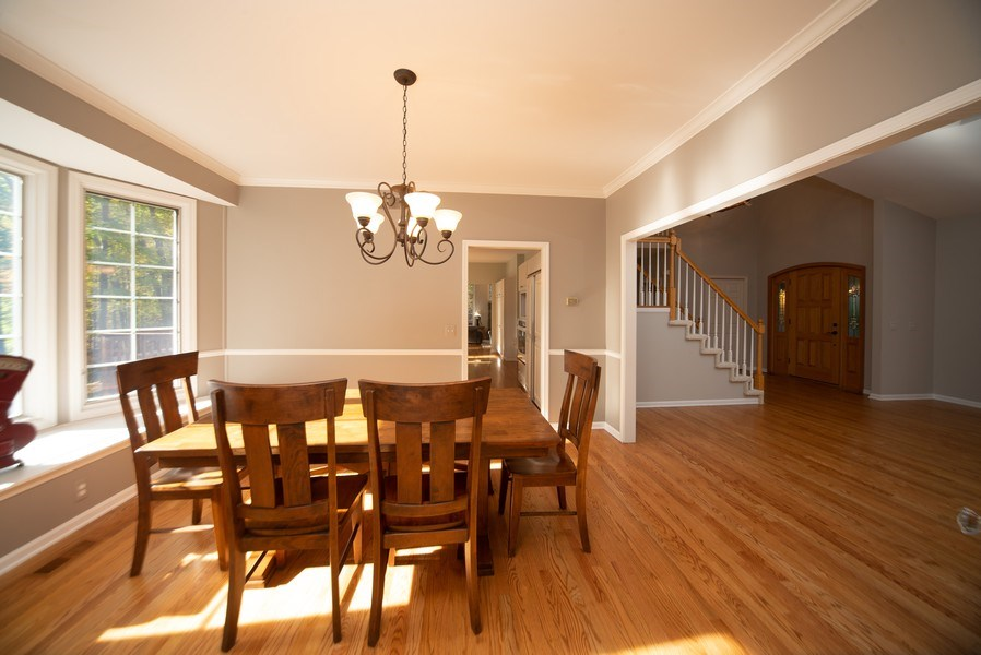 Real Estate Photography - 13631 Neal, Davisburg, MI, 48350 - Dining Room