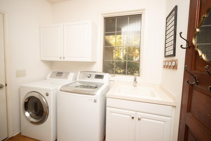 Real Estate Photography - 13631 Neal, Davisburg, MI, 48350 - Laundry Room