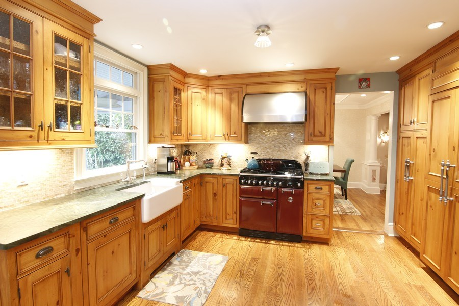 Real Estate Photography - 2 Highland Ave, Sea Cliff, NY, 11579 - Eat in kitchen