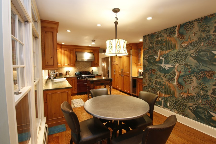 Real Estate Photography - 2 Highland Ave, Sea Cliff, NY, 11579 - Kitchen/Dining area
