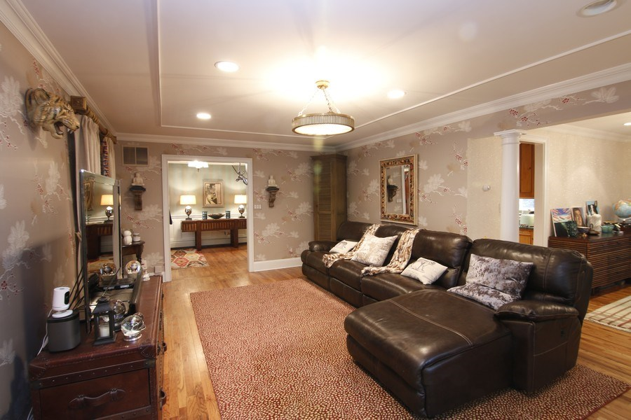 Real Estate Photography - 2 Highland Ave, Sea Cliff, NY, 11579 - Living room