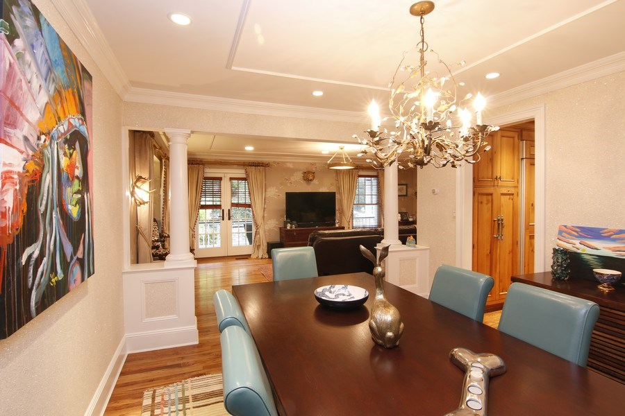 Real Estate Photography - 2 Highland Ave, Sea Cliff, NY, 11579 - dining room/living room