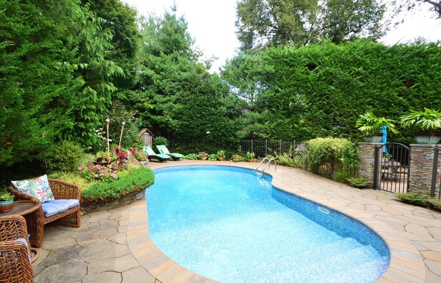 Real Estate Photography - 2 Highland Ave, Sea Cliff, NY, 11579 - Pool