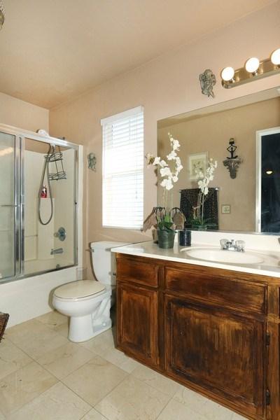 Real Estate Photography - 9302 Sierra Vista Cir, Pico Rivera, CA, 90660 - Master Bathroom