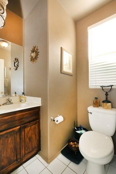 Real Estate Photography - 9302 Sierra Vista Cir, Pico Rivera, CA, 90660 - Half Bath