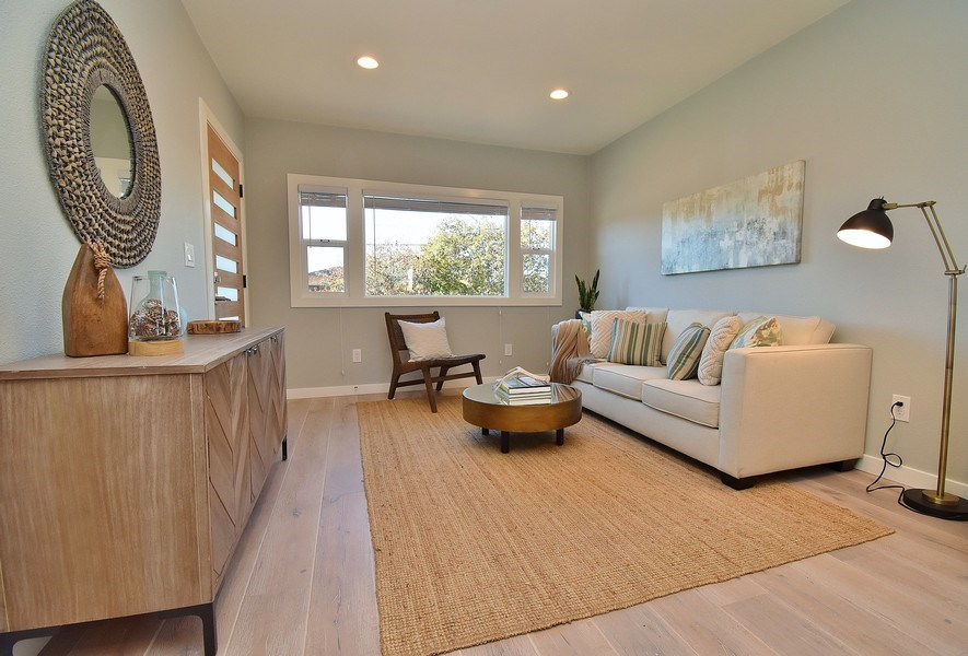 Real Estate Photography - 3005 Acton St, Berkeley, CA, 94702 - Living Room