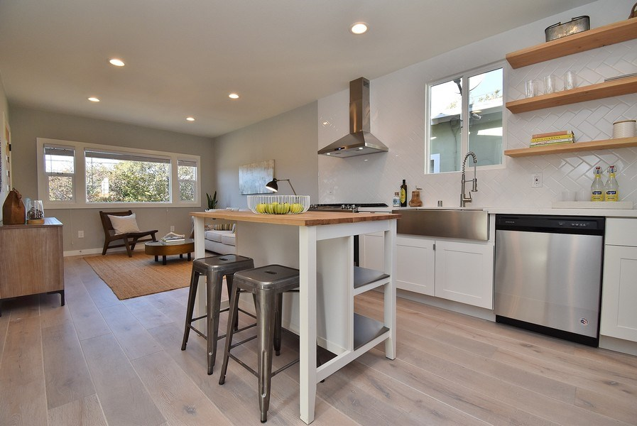 Real Estate Photography - 3005 Acton St, Berkeley, CA, 94702 - Kitchen