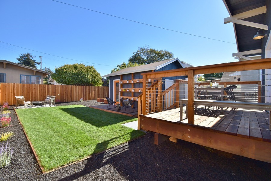 Real Estate Photography - 3005 Acton St, Berkeley, CA, 94702 - Back Yard
