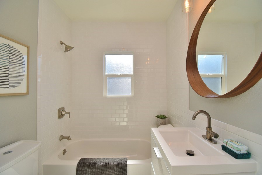 Real Estate Photography - 3005 Acton St, Berkeley, CA, 94702 - Bathroom