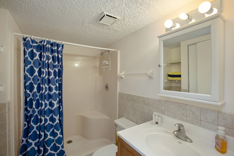 Real Estate Photography - 2730 Ocean Shore Blvd, Unit 107, Ormond Beach, FL, 32176 - Master Bathroom
