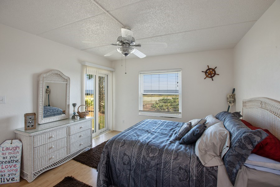 Real Estate Photography - 2730 Ocean Shore Blvd, Unit 107, Ormond Beach, FL, 32176 - Master Bedroom