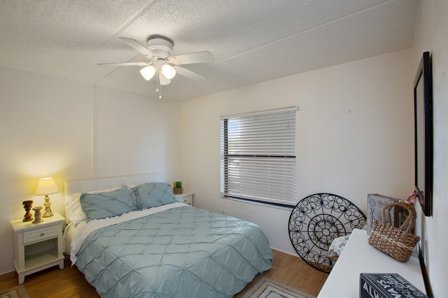 Real Estate Photography - 2730 Ocean Shore Blvd, Unit 107, Ormond Beach, FL, 32176 - Bedroom