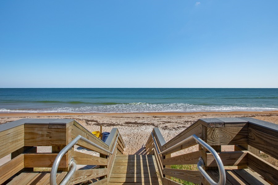Real Estate Photography - 2730 Ocean Shore Blvd, Unit 107, Ormond Beach, FL, 32176 - Ocean View