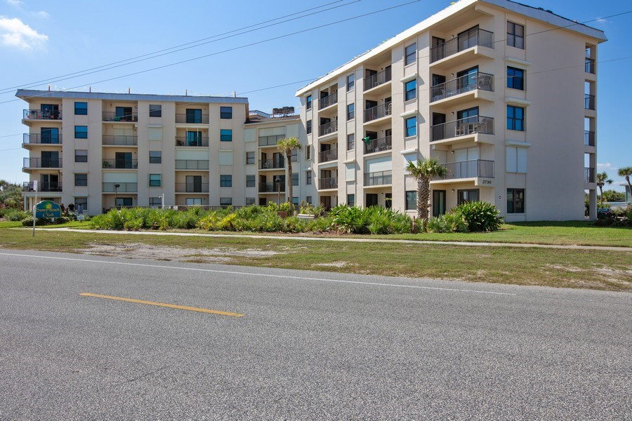Real Estate Photography - 2730 Ocean Shore Blvd, Unit 107, Ormond Beach, FL, 32176 - Front View