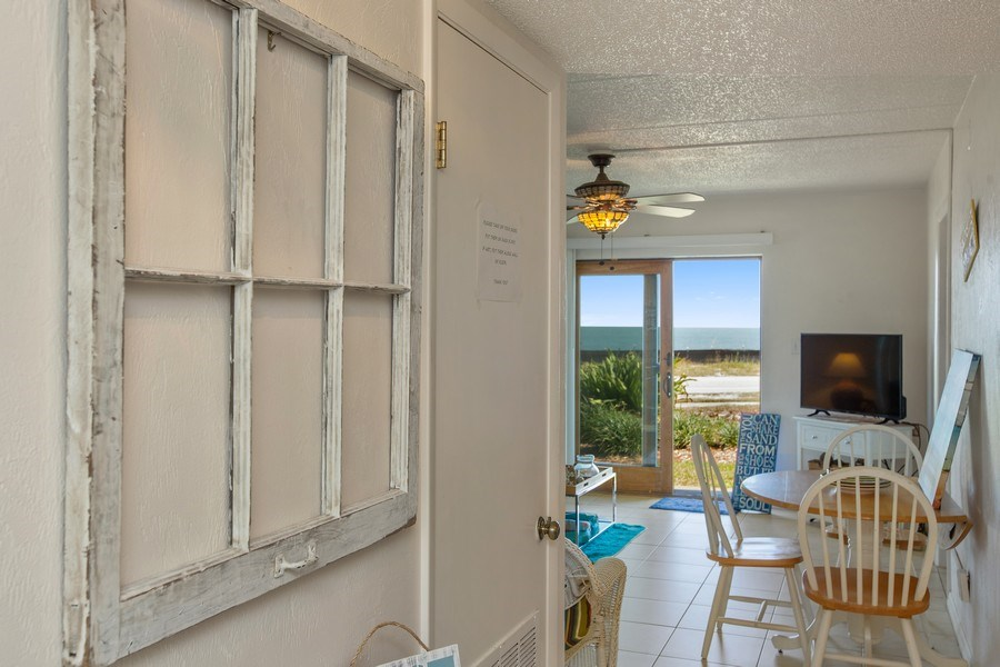 Real Estate Photography - 2730 Ocean Shore Blvd, Unit 107, Ormond Beach, FL, 32176 - Hallway