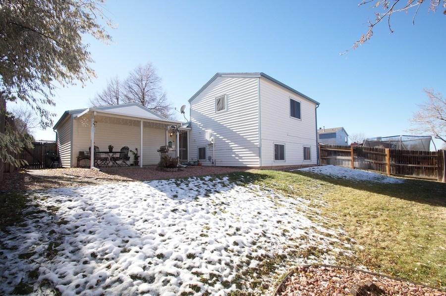 Real Estate Photography - 4852 S. Pagosa Way, Aurora, CO, 80015 - Back Yard