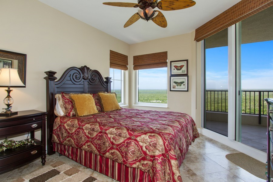Real Estate Photography - 1050 Borghese Ln, 1506, Naples, FL, 34114 - 2nd Bedroom