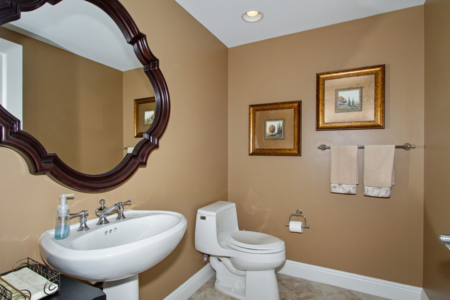 Real Estate Photography - 1050 Borghese Ln, 1506, Naples, FL, 34114 - Half Bath