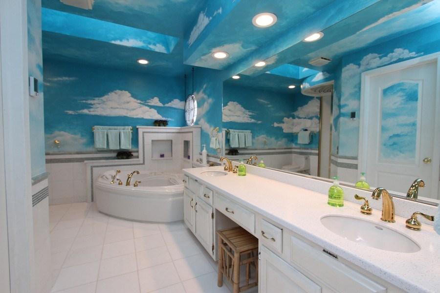 Real Estate Photography - 4787 Amber Cir, Hoffman Estates, IL, 60192 - Master Bathroom