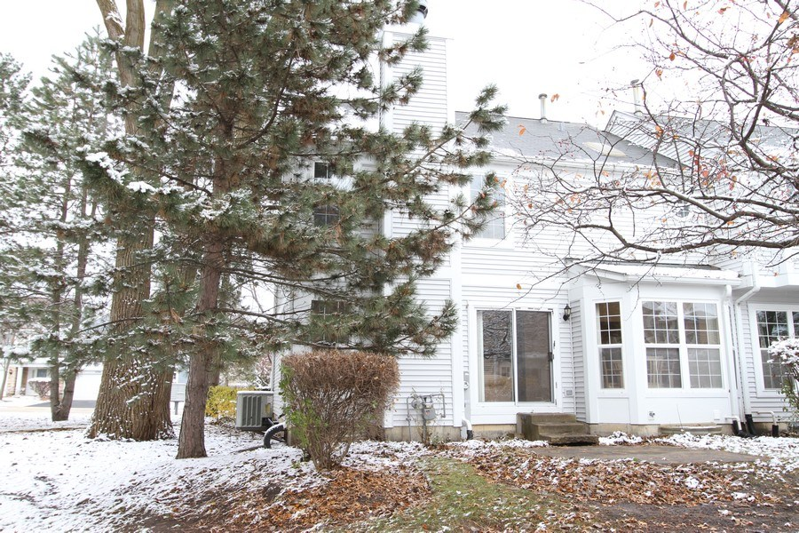 Real Estate Photography - 4787 Amber Cir, Hoffman Estates, IL, 60192 - Rear View